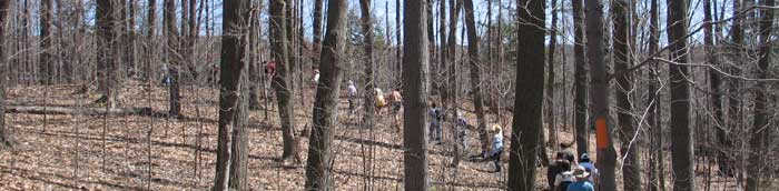 Cayuga Trail hike - Earth Day, 2007 - Photo: R. Hopkins